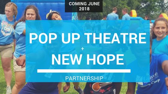 Pop Up Theatre Update #2